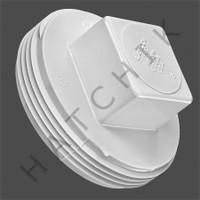 "V5030 PLASTIC PLUG - 3"" WHITE SQUARE HEAD SQUARE HEAD"