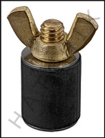"""V5648 CLOSED TEST PLUG FOR 3/4"""" PIPE #112 #112"""