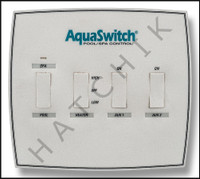 V5857 JANDY #7312 DECAL - AQUASWITCH FACEPLATE