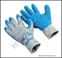 V7099 ATLAS RUBBER COATED SEEMLESS STRING KNIT (BLUE LATEX ON GRAY)