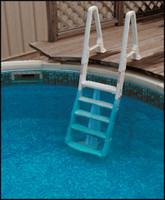 "W3035 CONFER #6100 INPOOL LADDER ADJ. 48"" TO 54"" COLOR:WHITE"