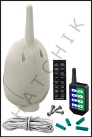 D3217 PENTAIR 521209 QUICKTOUCH 4- WIRELESS REMOTE FOR EASYTOUCH