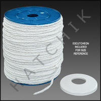"X1000 POLY SPLICING ROPE 1/4""X 1000'"