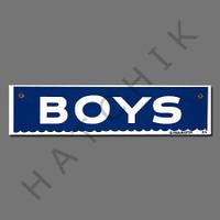 "X4018 SIGN-""BOYS"" #40314 #40314"