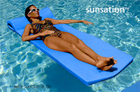 Y1001 SUNSATION POOL FLOAT 8020026 COLOR: BLUE