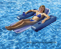 Y1015 POOLMASTER #70727 CARIBBEAN CHASIE LOUNGE-BLUE SKETCH