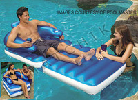Y1077 CHAISE & CHAIR LOUNGER CHAIR 'N' CHAISE FLOATING LUXURY LOUNGE