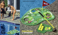 Y2002 POOLMASTER POOLSIDE CHALLENGE FLOATING GOLF GAME  #72737