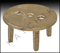 G7153 STANCHION ANCHOR COVER BRONZE SLIP