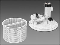E1215 ARNESON W490 AUTO SKIM VAC SKIMMER/VACUUM PLATE