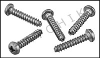E1A09 HAYWARD #AX5010D4 SCREWS (5 PACK) FOR VIPER/PHANTOM