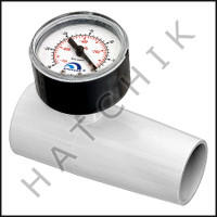E1V96 POOL VAC #V096 IN-LINE VACUUM GAUGE