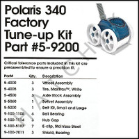E2406 POLARIS 5-9200 POLARIS 340 FACTORY TUNE-UP KIT                            ***OBS***