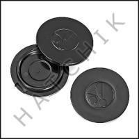 E2456 POLARIS 9-100-1115 HUB CAP (BAG OF 3) BLACK (380/360/340)