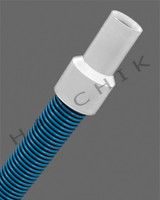 "F1009 VAC HOSE DLX 1-1/2"" X 12' FILTER CONNECTOR HOSE"