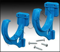 F1118 HOSE HANGERS-PAIR W/ SCREWS