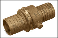 F2070 HOSE COUPLING (BRASS) 1-1/2