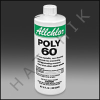 A4856 ALL CHLOR 60% POLY ALGAECIDE 18x1 18 X 1QT CS **(SUB A7132)****