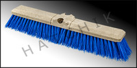 "F5084 PUSH BROOM 18"" W/FEMALE THREADS"