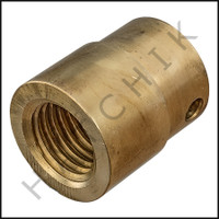 F6066 FEMALE BRASS THREADED FITTING COMM. POLE  FEMALE THREAD