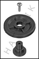 F7658 JANDY R0379800 RAY-VAC SIDE WHEEL KIT, GUNITE COLOR: BLACK