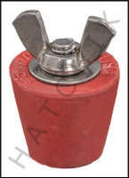 FF5005 WINTERIZING PLUG #5 (RED) **N/A WHEN OUT - USE FF1005**