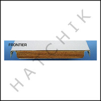 G3008 FRONTIER II SPRING BOARD 6 FT WH 3-HOLE  COLOR: WHITE