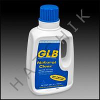A5021 GLB NATURAL CLEAR ENZYME 1 QT BT ENZYME CLARIFIER (12x1QT) #71410A