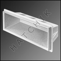 G7041 S R SMITH BAJA RECESSED STEP WHITE FROSTPROOF COLOR: WHITE   EACH