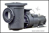 "H1071 PENTAIR 5HP/3PH COMM PLAST PMP 208-230/460 VOLT 6""X4""STRN POT"