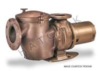 H1089 PUREX 5HP/3PH COMMERCIAL PUMP  CHK-50 220/440V #011657