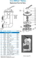 """H3048 PAC FAB 26-1142 HI-FLOW VALVE W/PLUMBING - DE ONLY  2"""""""