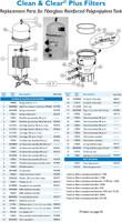 H3452 PAC FAB CLEAN & CLEAR PLUS 320 CARTRIDGE FILTER       160340