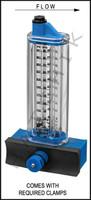 "H7033 FLOWMETER- ROLACHEM 1-1/2"" SIDE SIDE MOUNT 20-100 GPM"