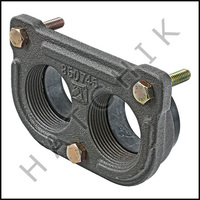 J1518 RAYPAK #002432F INLET/OUTLET FLANGE (NEW DESIGN)FOR 53A