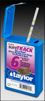 B1063 TAYLOR sureTRACK-6 WAY TEST STRIPS 50ct (CL/BR/PH/TA/CY/TH) K-1312