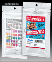 B1064 TAYLOR sureTRACK-6 WAY TEST STRIPS 10ct FOIL PK (CL/BR/PH/TA/CY/TH)