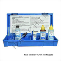 B1071 TAYLOR TEST KIT K-1518 FAS-DPD CHLORINE / MONOPERSULFATE