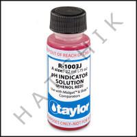 B1134 TAYLOR 3/4oz PHENOL RED TEST REAGENT             R-1003J-A