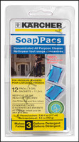 K1068 KARCHER ALL PURPOSE SOAP PAC 12 PER PACK      (6 PACS PER CASE)