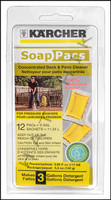 K1069 KARCHER DECK & PATIO  SOAP PAC 12 PER PACK      (6 PACS PER CASE)