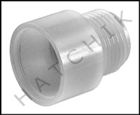 K1350 RULE #68 HOSE ADAPTER 1-1/8 OUTLET TO GARDEN HOSE FITTING