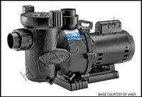 """K2402 JANDY FHPM1.0 FLO-PRO PUMP  1-HP 115/230V  UP-RATED  W/2"""" UNIONS"""