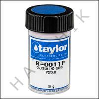 B1196 TAYLOR 10 GRAM #11P CALCIUM INDICATOR POWDER    R-0011P-I