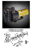 K4016 HAYWARD MAX-FLO PUMP 1 HP SP2807X10