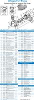 K4190 PUREX WHISPERFLO PUMP 1 HP DUAL SPEED  WFDS-24   #012485