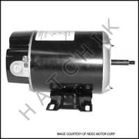 K4254CU MOTOR - THRU BOLT 1 HP 115V 48Y FRAME EZBN25 US MOTOR