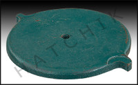 """K9207 MARLOW #25773-02 """"2AF"""" COVER FOR STRAINER BODY, CAST IRON"""