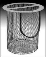 "K9354 PAC FAB #075844  ""R"" SERIES S.S. STRAINER BASKET"