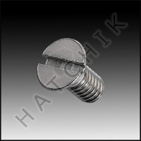 L1015 JACUZZI 14-4328-01-R OVAL HD. 8-32 SCREWS (2 EACH)